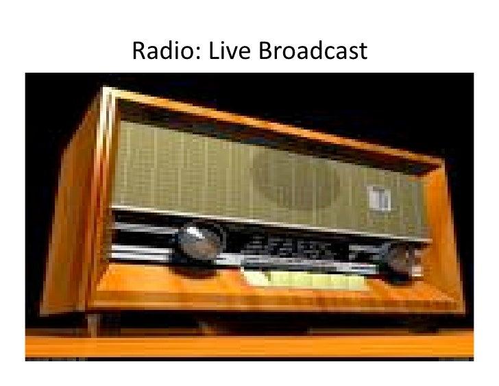 Radio:LiveBroadcast                                                Pragyan, February 27, 2010                    © Rame...