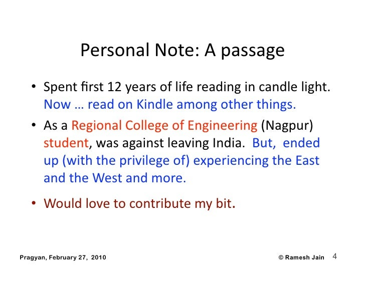 PersonalNote:Apassage    • Spentfirst12yearsoflifereadingincandlelight.       Now…readonKindleamongot...