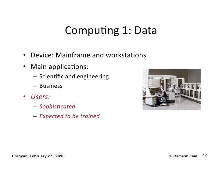 CompuAng1:Data      • Device:MainframeandworkstaAons      • MainapplicaAons:           – ScienAficandengineer...