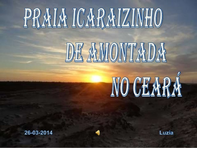 No litoral do Ceará ainda existe um lugar quase intocado e paradisíaco. A praia de Icaraí de Amontada, a 220 km de Fortale...