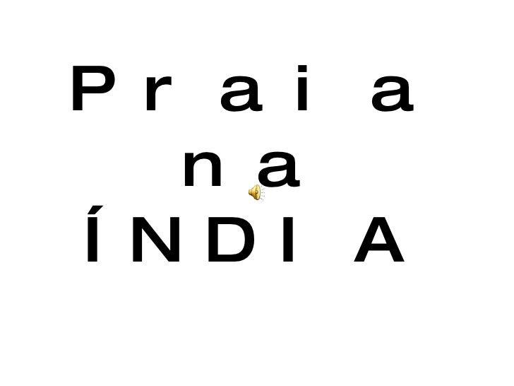 Praia na ÍNDIA