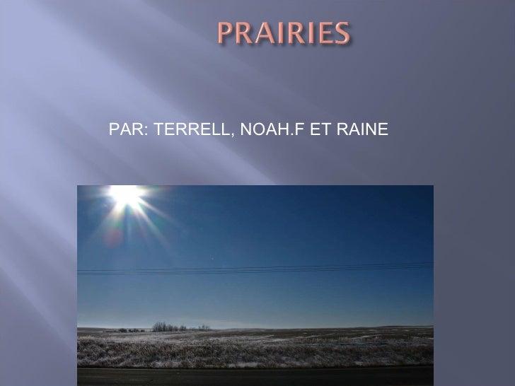 PAR: TERRELL, NOAH.F ET RAINE