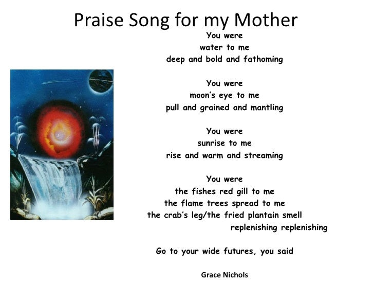Praise song for_my_mother