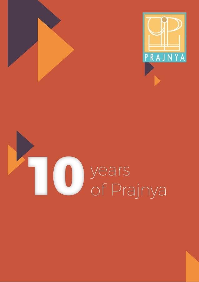 years of Prajnya