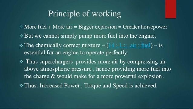 Supercharger Seminar Report Pdf