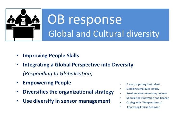 ob response to cultural diversity