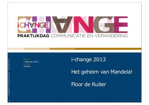 Datum:                                                                                     i-change 2013© Copyright 2011 D...