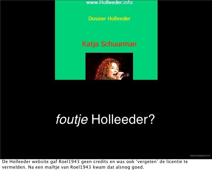 foutje Holleeder?                                                                                        marcoraaphorst.nl...