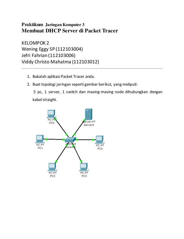 Praktikum jaringan komputer 3 dhcp server praktikum jaringan komputer 3 membuat dhcp server di packet tracer kelompok2 wening eggy sp 112103004 ccuart Image collections