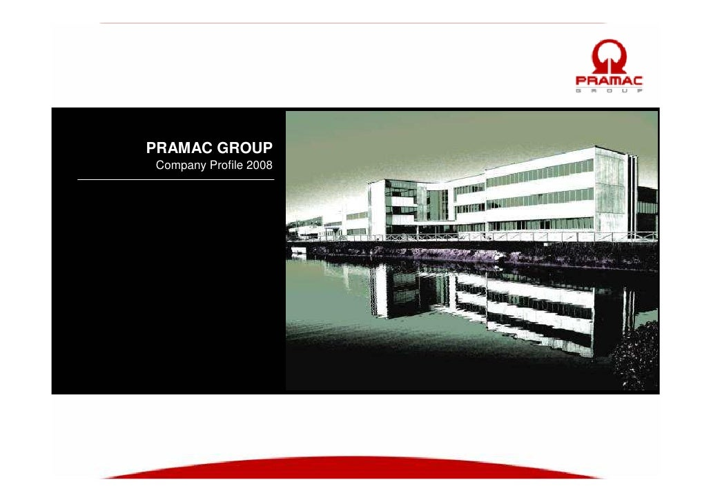 PRAMAC GROUP Company Profile 2008