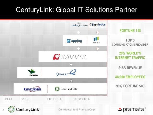 CenturyLink Webinar: Transforming Sales Operations to Increase Customer Retention Slide 2