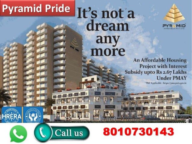 #Pyramid #Pride #sector #76 #Gurgaon- #2BHk #affordable #housing