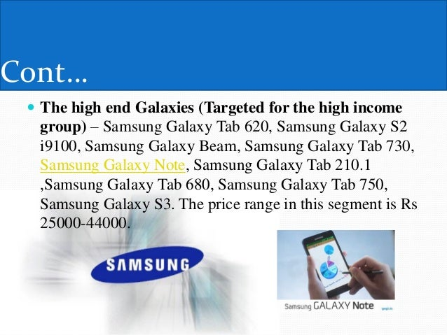 samsung sales promotion strategy