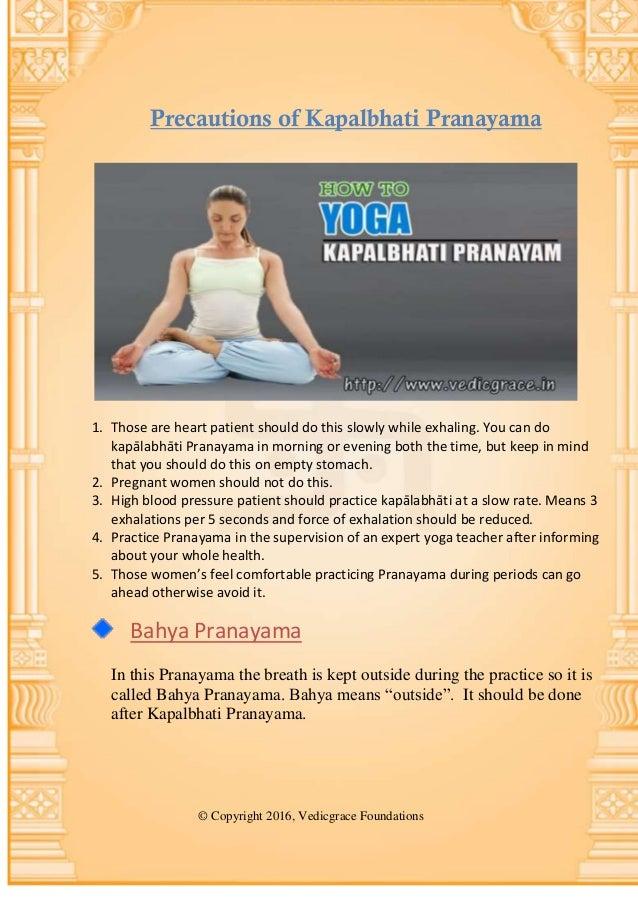 Pranayama exercises1