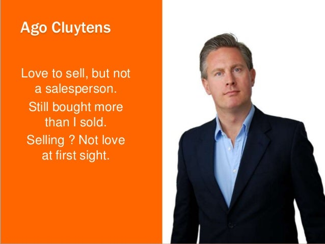 """""""Winning The Professional Services Sale"""" with Aaron Ross & Ago Cluytens Slide 3"""