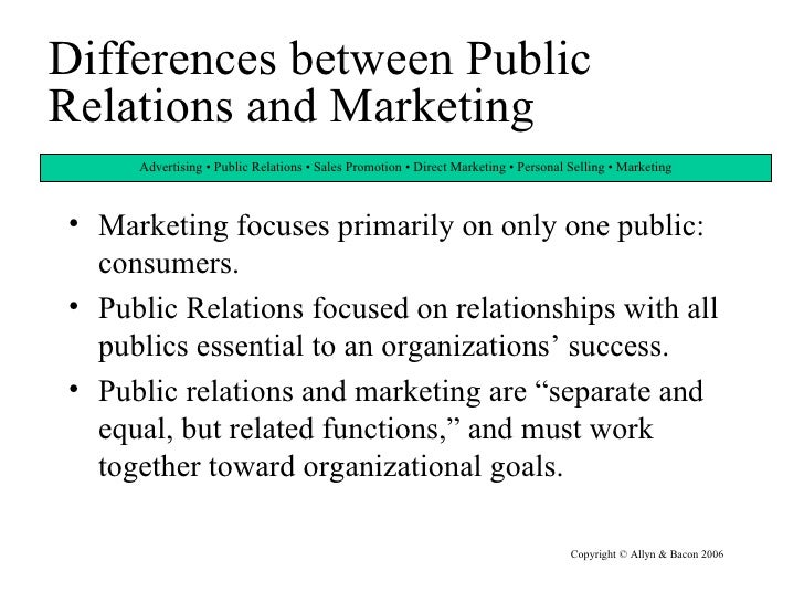 differences between pr and advertising Start studying public relations learn vocabulary, terms, and more with flashcards, games,  what are the differences between advertising and pr advertising.