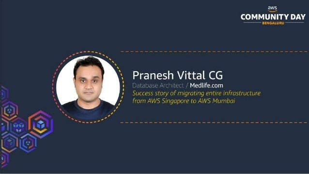 Success story of migrating entire infrastructure from AWS Singapore to AWS Mumbai Slide 2