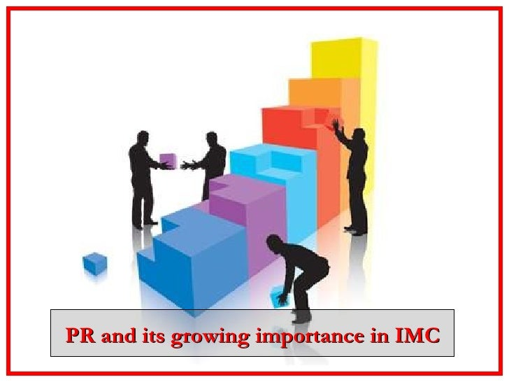 PR and its growing importance in IMC