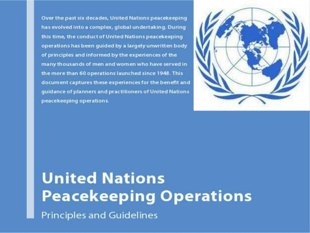 peacekeeping essay