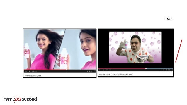 Pran litchi drink: scanning - A study by FPS