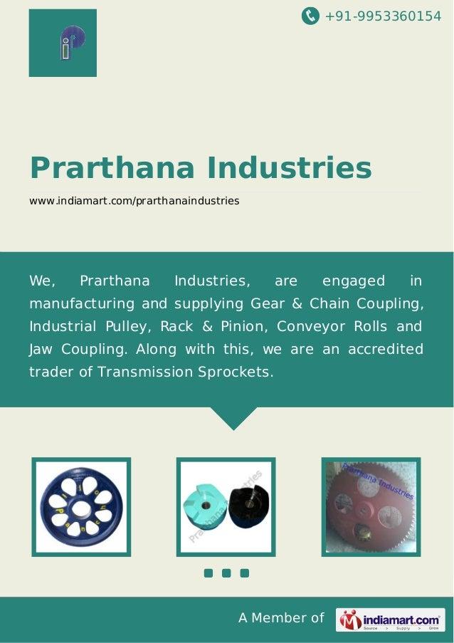 +91-9953360154  Prarthana Industries www.indiamart.com/prarthanaindustries  We,  Prarthana  Industries,  are  engaged  in ...