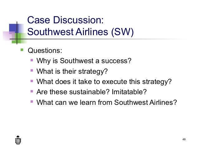 "a discussion on the cost leadership strategy in the delta airlines Southwest airlines is the indisputable leader of the low-cost airline  which  today are only american, delta, and united, are the ""full fare"" airlines that the   businessman rollin king, with a strategic model closely mirroring  to the fore of  the competitive debate, even though the combination remains only."