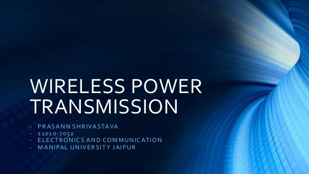 thesis wireless power transmission