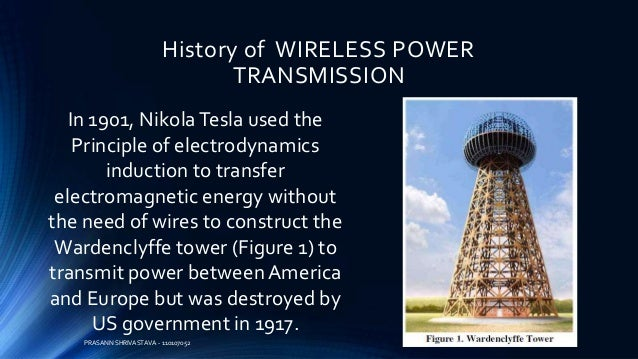 Wireless Power Transmission Wireless Charging