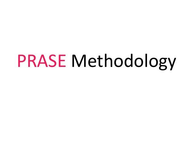 PRASE Methodology