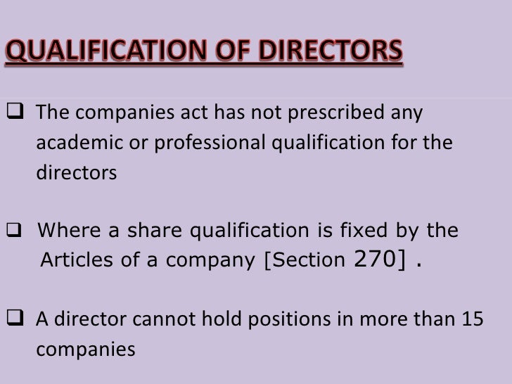 Directors are not agents for the individual shareholders, they are the agents of the company-the artificial person