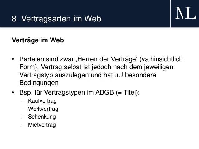Verträge Im Web Teil Iv Von Iv