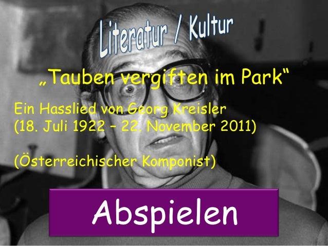Tauben (Powerpoint Karaoke)
