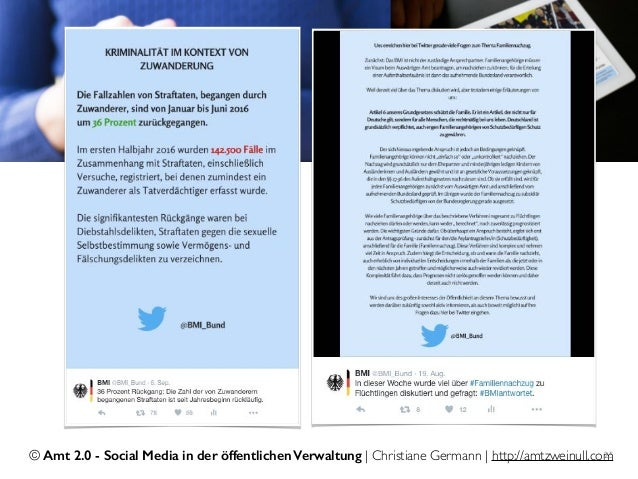 © Amt 2.0 - Social Media in der öffentlichen Verwaltung | Christiane Germann | http://amtzweinull.com25