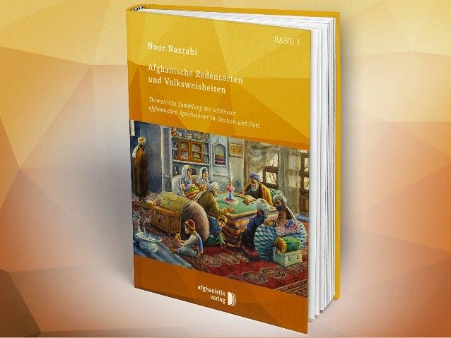 Die afghanische kulturelle und geistige Identität Afghanische Redensarten & Volksweisheiten