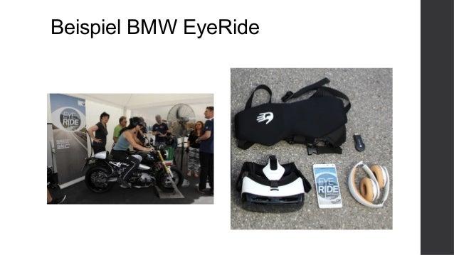 Beispiel BMW EyeRide
