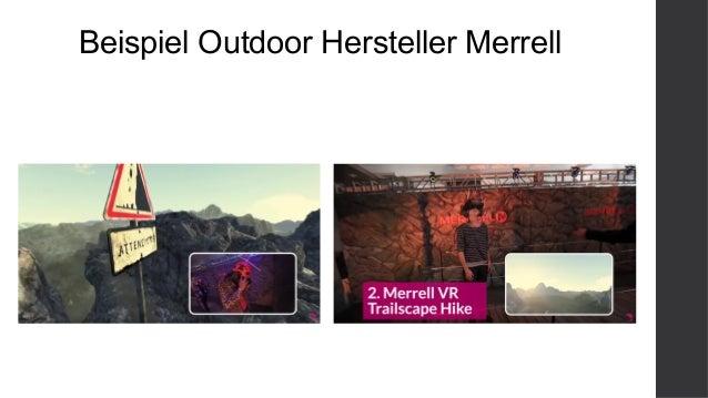 Beispiel Outdoor Hersteller Merrell