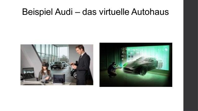 Beispiel Audi – das virtuelle Autohaus