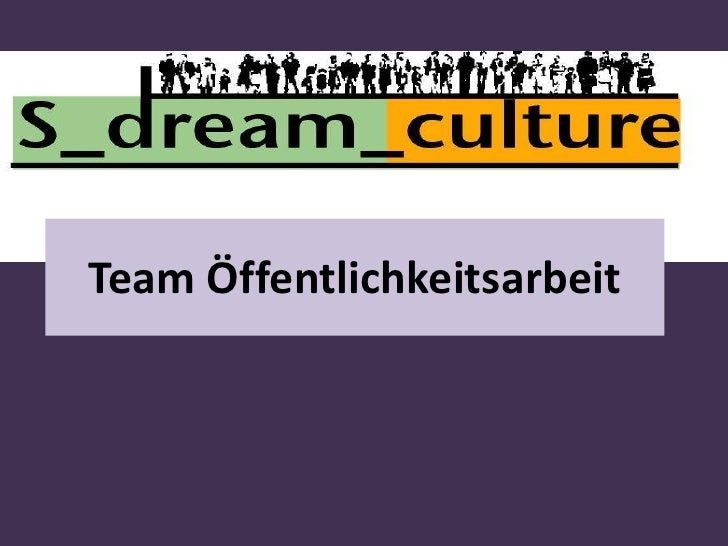 Team Öffentlichkeitsarbeit<br />