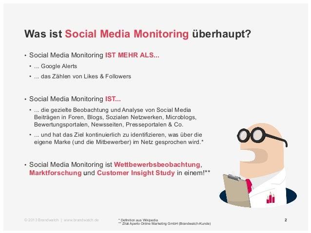 Einführung Social Media Monitoring Slide 2