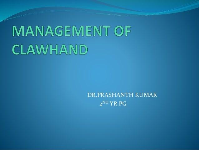 DR.PRASHANTH KUMAR 2ND YR PG