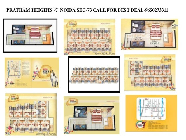 PRATHAM HEIGHTS -7 NOIDA SEC-73 CALL FOR BEST DEAL-9650273311