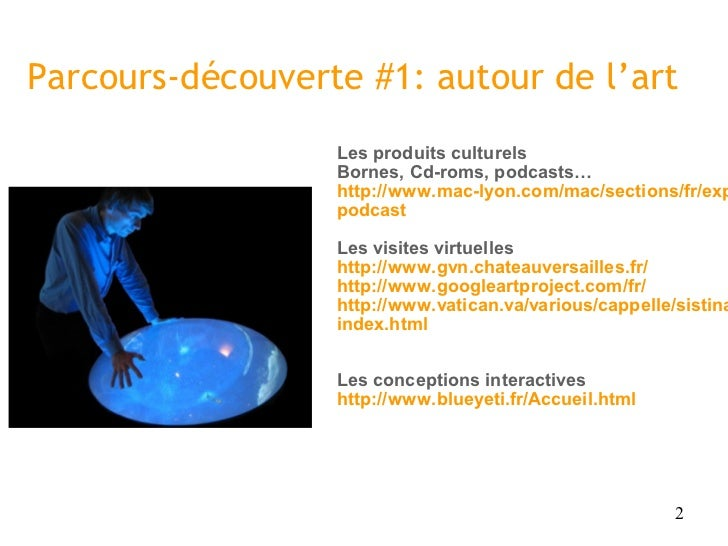 Pratiques culturelles et TIC Slide 2