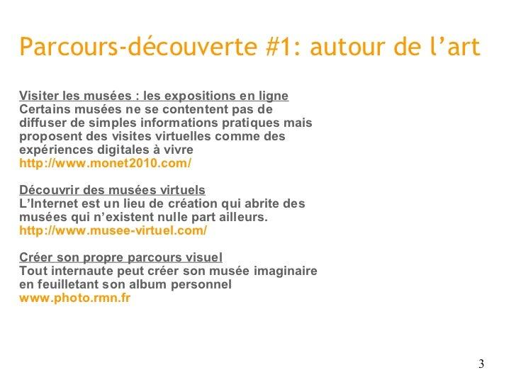 Pratiques culturelles et TIC Slide 3