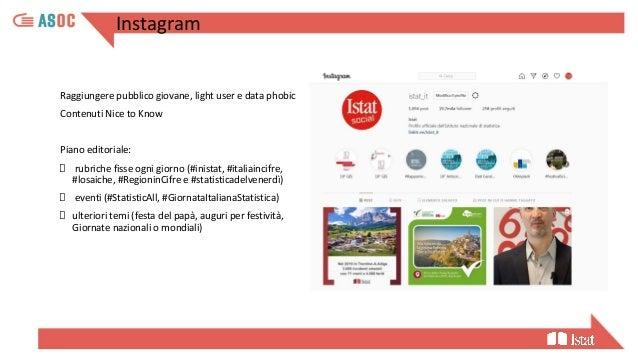 24 I social network Istat come servizio pubblico umanizzazione ascolto conversazione coinvolgimento racconto