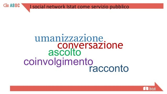 ASOC2021_Lezione 3 - Comunicare i dati e le informazioni statistiche ufficiali con i social network