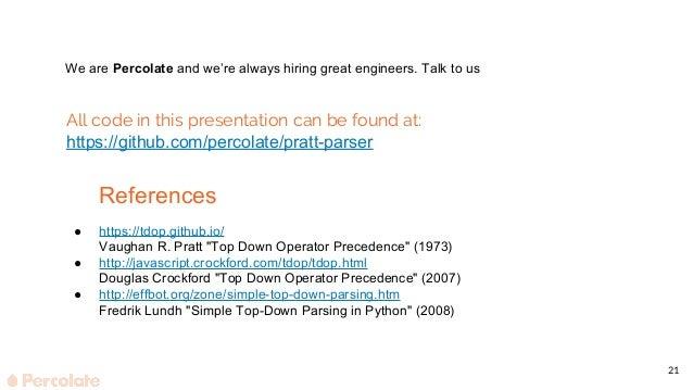 Pratt Parser in Python