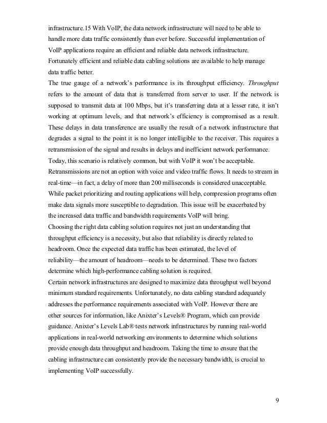 VOIP Seminar Report