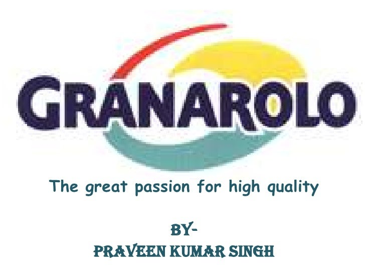 BY-<br />The great passion for high quality<br />By-<br />PRAVEEN KUMAR SINGH<br />