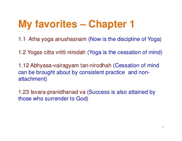 patanjali yoga sutra overview by praveen