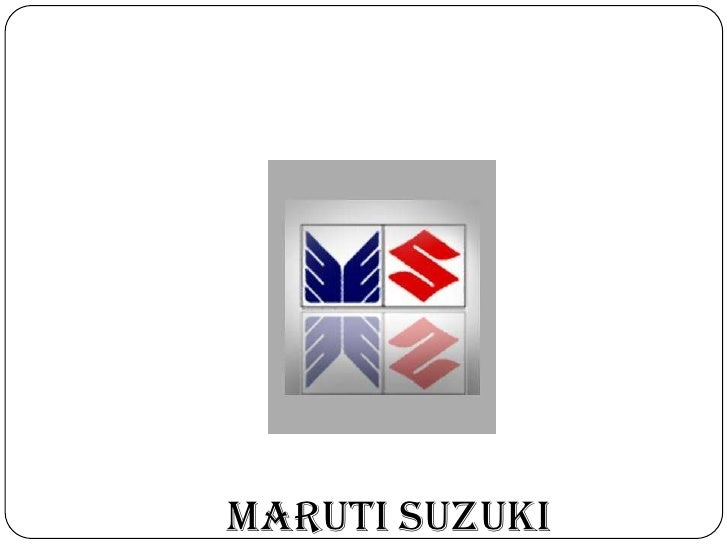 The maruti suzuki india limited marketing essay